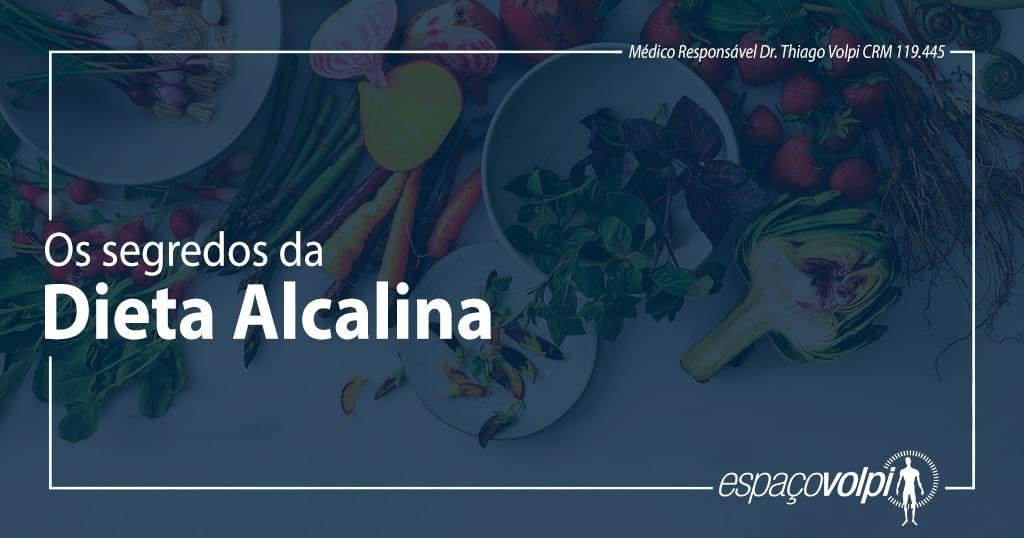 O segredo da dieta alcalina