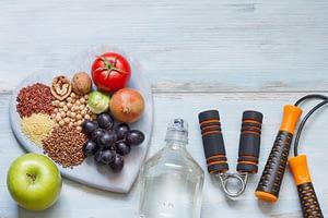 Alimentação e exercício físico