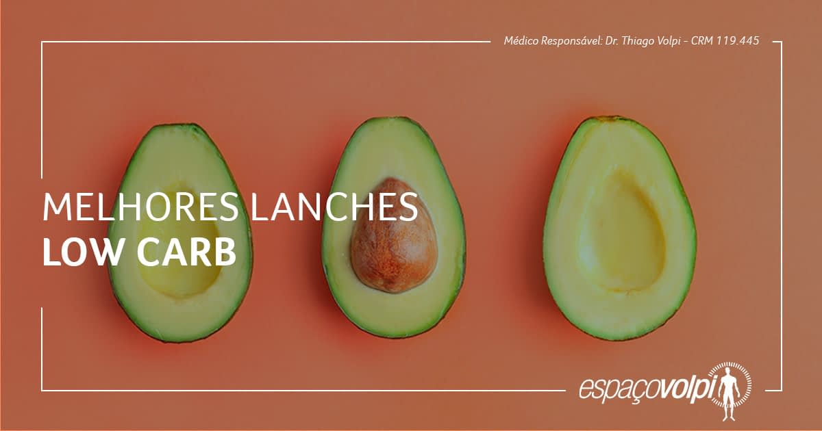 Melhores lanches Low Carb